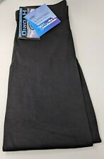 Duofold Men's Hydrid Stretch Black Pants Size Large - New With Tags