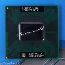 100% OK SL9SF Intel Core 2 Duo T7200 2 GHz Dual-Core Laptop Processor CPU