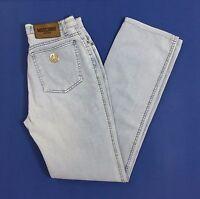 Moschino jeans donna usato w28 tg 42 slim gamba dritta boyfriend vintage T1149