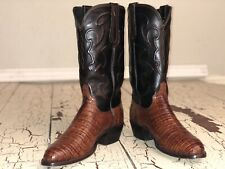 Lucchese M1635 Caiman Belly Boots 8ee