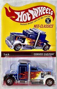 Hot Wheels RLC Neo-Classics Series 12 blue Convoy Custom #1061/4500