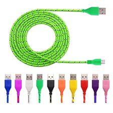 3m Micro USB Ladekabel Samsung Galaxy HTC Huawei WIKO Sony 3 Meter Kabel