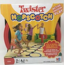 Hasbro Twister Hopscotch Kids Active Indoor Game with Carrying Case