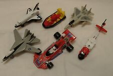 Lot of Air Force Jets, K41 Brabham 1976 Race Car, Hovercraft, Space Shuttle