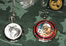 (2) Pocket Watches Dale Earnhardt 3 By FM & Wolf by Al Agnew With Chains