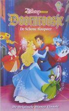 DOORNROOSJE - DE SCHONE SLAAPSTER - WALT DISNEY - VHS