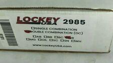 Lockey 2985-Jb-Dc Mechanical Keyless Narrow Stile Lever Handle Lock 2985Jbdc