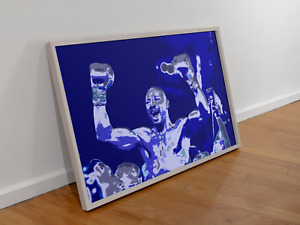 "MARVELOUS MARVIN HAGLER - ""VICTORY"" - Original Poster Art Print"