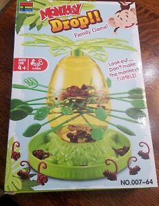 Monkey Drop Board Game - Look Out! Don't Make The Monkeys Tumble!