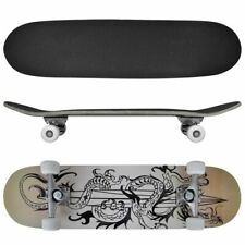 New Complete Longboard Wheels Skateboard 79cm 9 Ply Maply Cruiser Deck Sector