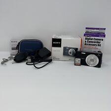 Sony Cybershot DSC-W800 Digital Camera Black Bundle Case 64gb SD Card Accesories