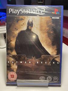 Playstation 2 Batman Begins NEW & SEALED (PAL)