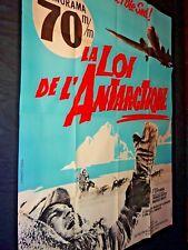 LA LOI DE L'ANTARCTIQUE Pole Sud Timofei Levtchouk   affiche cinema 1962