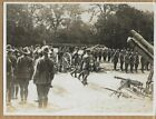 WWI King George Inspect Weapons Captured by Australians 6x8 Original News Photo