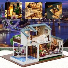 Miniature Doll House LED Ligh Kit Dolls Toy House & Furniture Box Gift DIY Toys