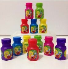 12 x Personalised Baby Sesame Street BIRTHDAY PARTY MINI BUBBLE FAVOURS