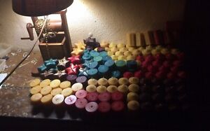 Pure beeswax candles (30 tea lights clean burning, efficient 1/2oz. each)