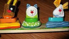 Wood Puzzle playtime stacking play learn eye hand coordination Cognitive Toddler
