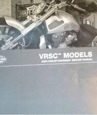 2009 Harley Davidson VRSC V-ROD Service Shop Manual Set W Electrical & Parts Bk