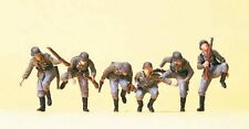 Ho Preiser Military 16878 Wwii German Army Soldiers Dismounting Figures