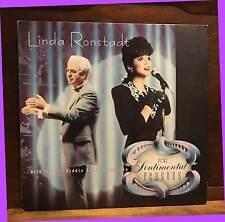 1986 LINDA RONSTADT For Sentimental Reason  Asylum 9 Contemperary LP 黑膠唱片