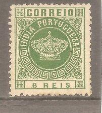 1882 Portuguese India Portugal Afinsa #117 Tipo Cora type 2 12.5
