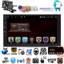 """Quad Core Android 6.0 4G WIFI 7""""Double 2DIN Car Radio Stereo No DVD Player GPS"""
