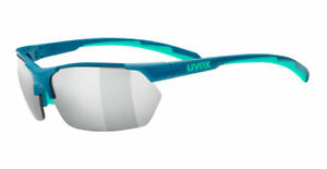 UVEX Sportstyle 114 Sunglasses - 3 Interchangeable Lenses Included - NEW + Case