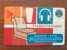 2007 Starbucks Gift Card iTunes Plus 2 Unused Pin Intact No Stored Value