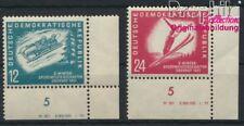 DDR 280DV-281DV neuf 1951 championnats de sports d'hiver le DDR (8927976