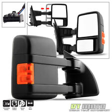 2008-2016 Ford F250-F550 Super Duty Manual LED Signal Towing Mirror Passenger RH