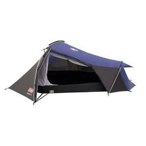 Coleman 3 Person Tent Cobra Lightweight in Blue Camping Outdoors Compact