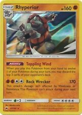 Rhyperior - 67/147 Holo Foil Pokemon Mint Burning Shadows