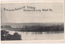 Blennerhassett Island PARKERSBURG WEST VIRGINIA VA Vtg Unused c1910s Postcard