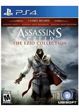 Assassin's Creed: The Ezio Collection PS4 Games 2,Brotherhood,revelations 3 In 1