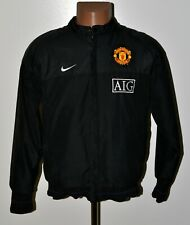 MANCHESTER UNITED 2009/2010 TRAINING FOOTBALL JACKET JERSEY NIKE SIZE S ADULT