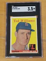 1958 Topps #1 Ted Williams SGC 3.5 Newly Graded PSA ?