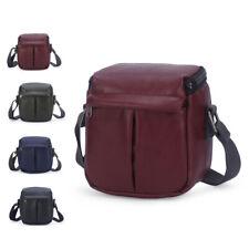 PU Leather Camera Case Shoulder Bag For Canon PowerShot G5 / SX540 HS / EOS M10