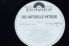 DIE AKTUELLE HITBOX - (Salzer, Myhre...) LP 1975 Polydor Promo Archiv-Copy mint