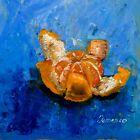 OrangeTangerine Citrus Fruit Still Life home decor square oil painting 8 x 8