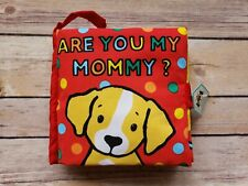 Jellycat Soft Crinkle Baby Book Are You My Mommy - Brand New
