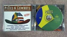 Various Artists--Peoes & Cowboys (2-CD 2001) Brazilian & American Country Music
