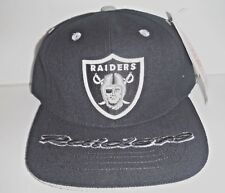 9489c15a6a7 LOS ANGELES RAIDERS VINTAGE SNAPBACK HAT BLACK NFL NEW AMERICAN NEEDLE