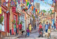 Gibsons - 1000 PIECE JIGSAW PUZZLE - Steep Hill Lincoln