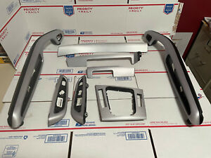 BMW E46 M3 M3 Convertible Brushed Aluminum 8 Piece Trim Kit