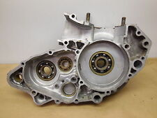 1990 Suzuki RM250 Left side engine motor crankcase crank case 90 RM 250