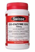 Swisse Co Enzyme Q10 50 Capsules 150mg Supplement