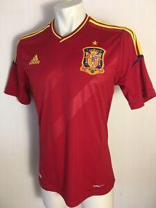 SPAIN 2012 - 2013 HOME ORIGINAL ADIDAS FOOTBALL CAMISETA JERSEY SHIRT X10937