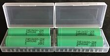 "Brand New ""4"" Samsung 25R 2500mAh 18650 HIGH DRAIN 20A Rechargeable Battery"