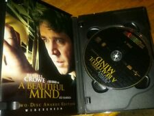 A Beautiful Mind DVD 2002 2-Disc Set Limited Edition Widescreen Ron Howard CROWE